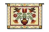 Folk Robin Wall Tapestry