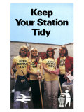 Keep Your Station Tidy, BR, 1979