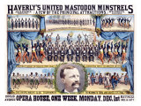 Haverly's United Mastodon Minstrels