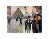 Paris, a Rainy Day, 1877