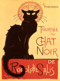 Tourn�e du Chat Noir, c.1896 Art Print