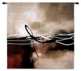 Symphony in Red and Khaki II Wall Tapestry