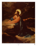 Christ in Gethsemane Art Print