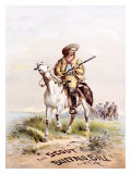 Buffalo Bill's Wild West, The Scout Giclee Print