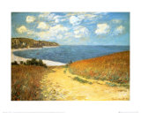 Buy Path Through the Corn at Pourville, 1882 at AllPosters.com
