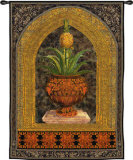 Pineapple Urn Wall Tapestry
