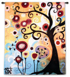 June Tree Wall Tapestry