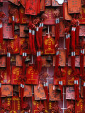 Prayer Offerings at Dongyue Temple in Chaoyangmen Wai Bejing, China