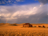 Abandoned Stone Farmhouse on the Barrier Highway Near Burra, Burra, South Australia, Australia