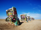 Cadillac Ranch, Amarillo, U.S.A.