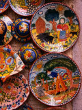 Colourful Souvenir Plates, Portugal