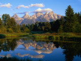Teton Range, Grand Teton National Park, USA