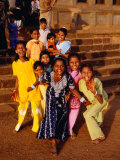 Group of Girls, Bijapur, India