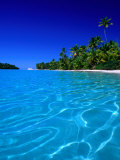 Tropical Lagoon Waters, Aitutaki, Southern Group, Cook Islands