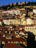 Rooftops and Buildings of City, Lisbon, Portugal