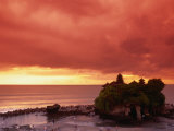 Buy Tanah Lot, Sea Temple, at Sunset, Bali, Indonesia at AllPosters.com