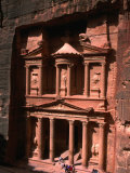 High Angle View of El Khasneh (The Treasury), Petra, Jordan