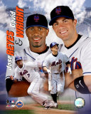 Jose Reyes and Dave Wright