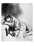 Buy Sleeping Girl, Drawing, British Museum, London at AllPosters.com