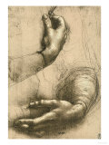 Buy Study of Female Hands, Drawing, Royal Library, Windsor at AllPosters.com