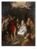 Adoration of the Shepherds, Conserved at the Galleria Estense in Modena Giclee Print