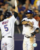 Jose Reyes and David Wright