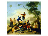 The Kite Cartoon for a Tapestry at the Prado; 1778