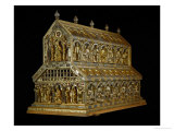 Shrine of the Three Magi, Begun 1181, Gold, Enamel, Precious Stones, Cameos, Antique Gems