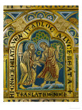 The Translation of Enoch, Verdun Altar, Begun 1181, Enamel
