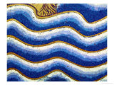 Waves of the Flood, Detail from the Panel Noah's Ark of the Verdun Altar