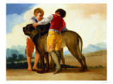 Boys with a Wild Dog 1786-87