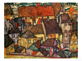 Yellow City, 1914 Giclee Print