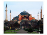Haghia Sophia, Exterior View, 6th Century