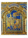 Descent from the Cross, Enamel, Verdun Altar, Begun 1181