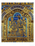 King Solomon and the Queen of Sheba, Verdun Altar, Begun 1181, Enamel