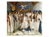 Louis Xi Presiding Over a Meeting of the Order Os Saint Michel