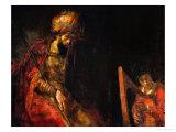 David Playing the Harp Before Saul, 1657