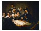 The Anatomy Lesson of Dr. Nicolaes Tulp Giclee Print