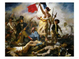 Liberty Leading the People, 1830 Giclee Print