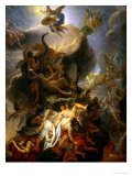 Fall of the Rebel Angels, Project for a Ceiling in the Chateau of Versailles