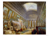 A Museum Gallery of Roman Art