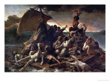 The Raft of the Medusa, 1819 Giclee Print