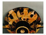Men and Their Young Lovers, Red-Figured Cup, circa 480 BC