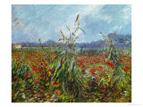 Field with Poppies Giclee Print