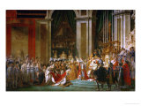 Sacre De Napoleon (Coronation) in Notre-Dame De Paris by Pope Pius VII, December 2, 1804 Giclee Print
