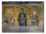 Madonna and Child, Flanked by Empress Irene and Emperor John II Komnenos (1118-1134)