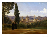Florence, Seen from the Boboli-Gardens