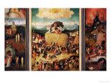 The Haywain, Triptych, circa 1485-90