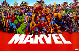 Buy Marvel Heroes from Allposters