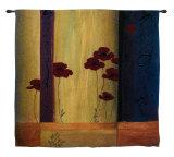 Poppy Tile I Wall Tapestry
